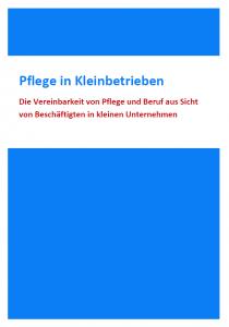 cover_Pflege in Kleinbetrieben