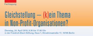 cover_Programm FES Gleichstellung Non-Profi-Organisationen